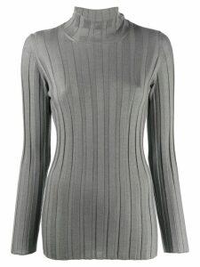 Fabiana Filippi cashmere roll-neck sweatshirt - Grey