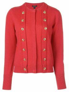 Escada button cardigan - Red