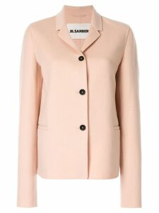 Jil Sander cashmere shirt jacket - Pink