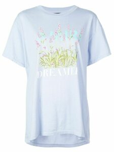 Amiri flower dreamer T-shirt - Blue