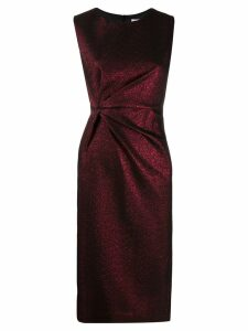 P.A.R.O.S.H. ruched dress - Red