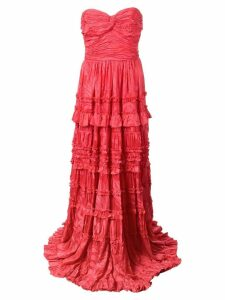 Alexis Allora evening dress - Red