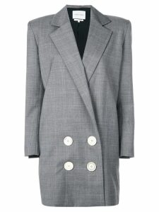 Carmen March double breasted blazer - Grey