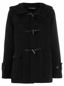 Iris Von Arnim hooded duffle coat - Black