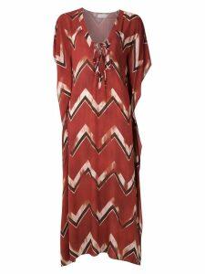 Brigitte chevron maxi dress - Multicolour