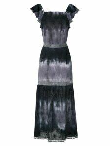 Brigitte tie dye maxi dress - Multicolour