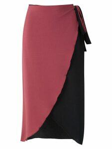 Brigitte wrap style skirt - Multicolour