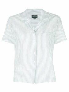 CALLIPYGIAN short-sleeve striped shirt - Blue