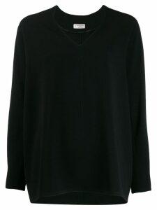 Alberto Biani V-neck blouse - Black
