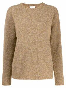 Dondup round neck jumper - Brown