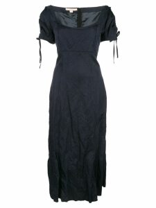 Brock Collection fitted midi dress - Blue