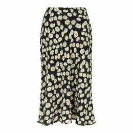 Rails London Daisy-print Midi Skirt