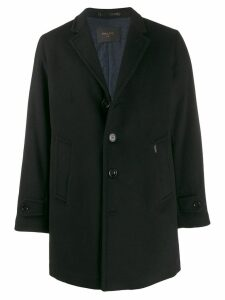 Paltò Geraldo single breasted coat - Black