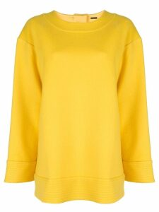 Adam Lippes oversized jumper - Yellow