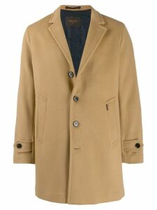 Paltò Geraldo single breasted coat - Neutrals