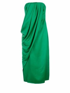 Marina Moscone wrap style dress - Green