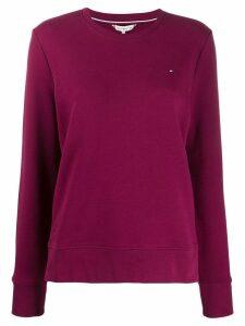 Tommy Hilfiger slim fit jersey sweatshirt - Pink