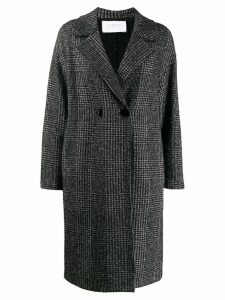 Harris Wharf London classic single-breasted coat - Black