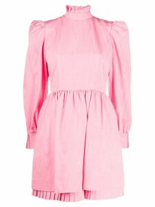 Marc Jacobs puff sleeved dress - Pink