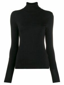 Liu Jo roll neck jumper - Black