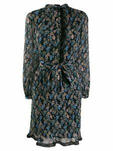 Tory Burch floral print dress - Blue