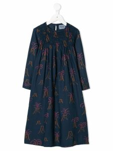 Bobo Choses Volcano print dress - Blue