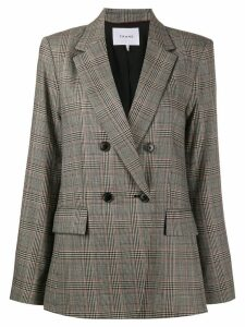 FRAME checked print blazer - NEUTRALS