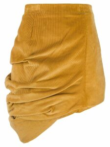 Y/Project corduroy asymmetric skirt - Yellow