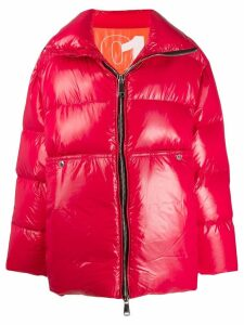 Khrisjoy oversized padded coat - Red