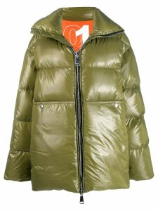 Khrisjoy oversized padded coat - Green