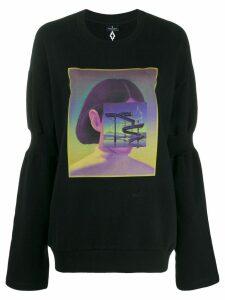 Marcelo Burlon County Of Milan Carousel Square sweatshirt - Black