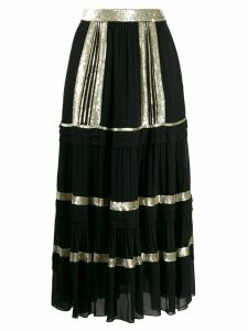 Temperley London tiered skirt - Black