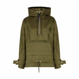 Reebok X Victoria Beckham Olive Twill Jacket