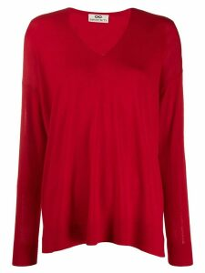Sminfinity V-neck jumper - Red