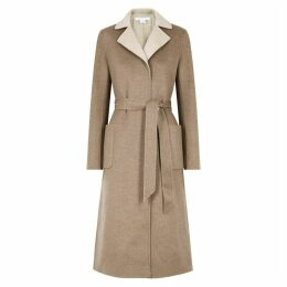 Duffy Brown Reversible Cashmere Coat