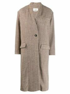 Isabel Marant Étoile classic single-breasted coat - Neutrals
