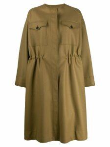 Rochas Ropp coat - Green