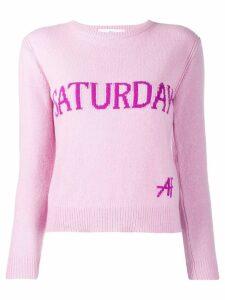 Alberta Ferretti Saturday sweater - Pink