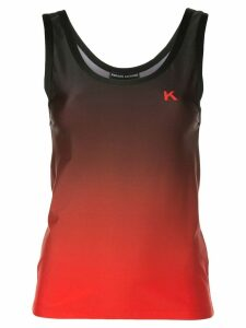Kwaidan Editions ombré tank top - Red
