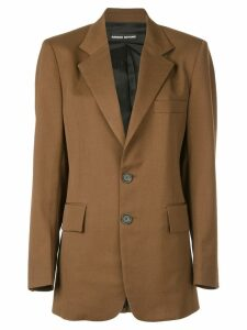 Kwaidan Editions boyfriend blazer - Brown