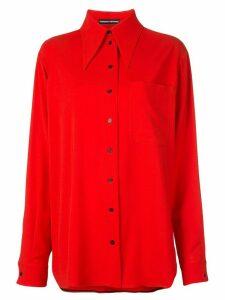 Kwaidan Editions oversized shirt - Red