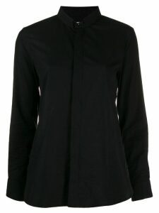 Saint Laurent high collar shirt - Black