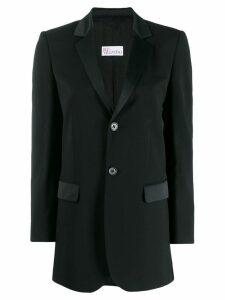 Red Valentino slim fit blazer - Black
