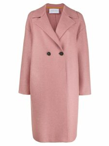 Harris Wharf London double-breasted coat - PINK