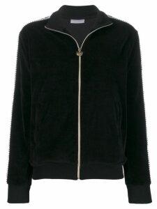 Chiara Ferragni logomania track jacket - Black