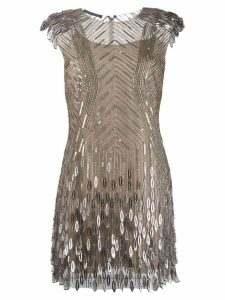 Alberta Ferretti sequin embellished dress - Grey