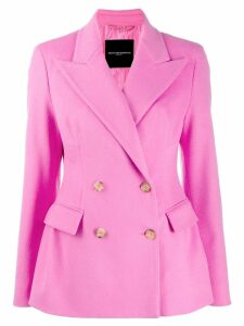 Ermanno Scervino double breasted blazer - PINK