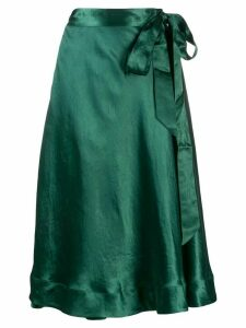 Bellerose tie waist skirt - Green