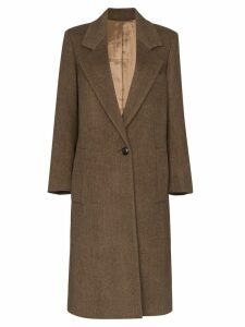 Joseph Captain mid-length coat - Brown