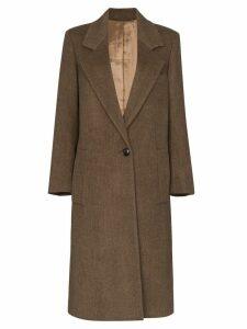 Joseph Captain mid-length coat - Brown